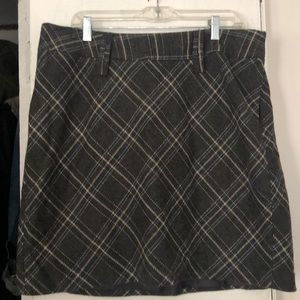 Tweed alone skirt